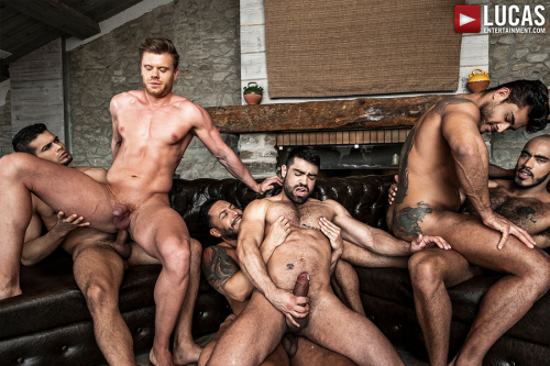Naked Muscle Men Gay Sex Fuck Fest